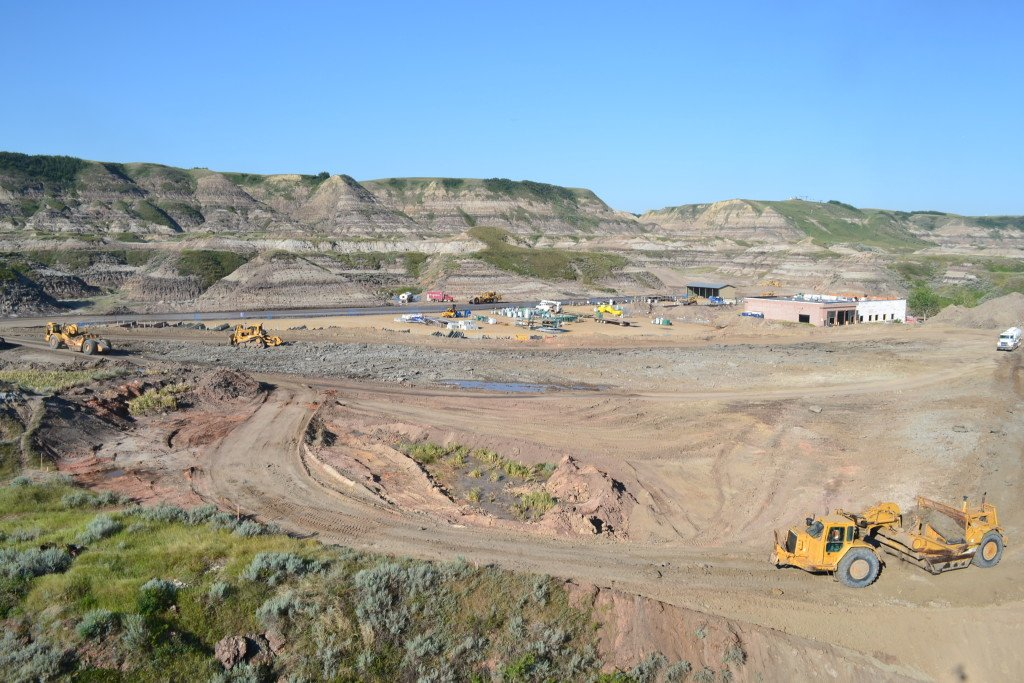 ATCO Chandos Construction Drumheller OwlBox 4K Construction Camera Time-Lapse System & Services