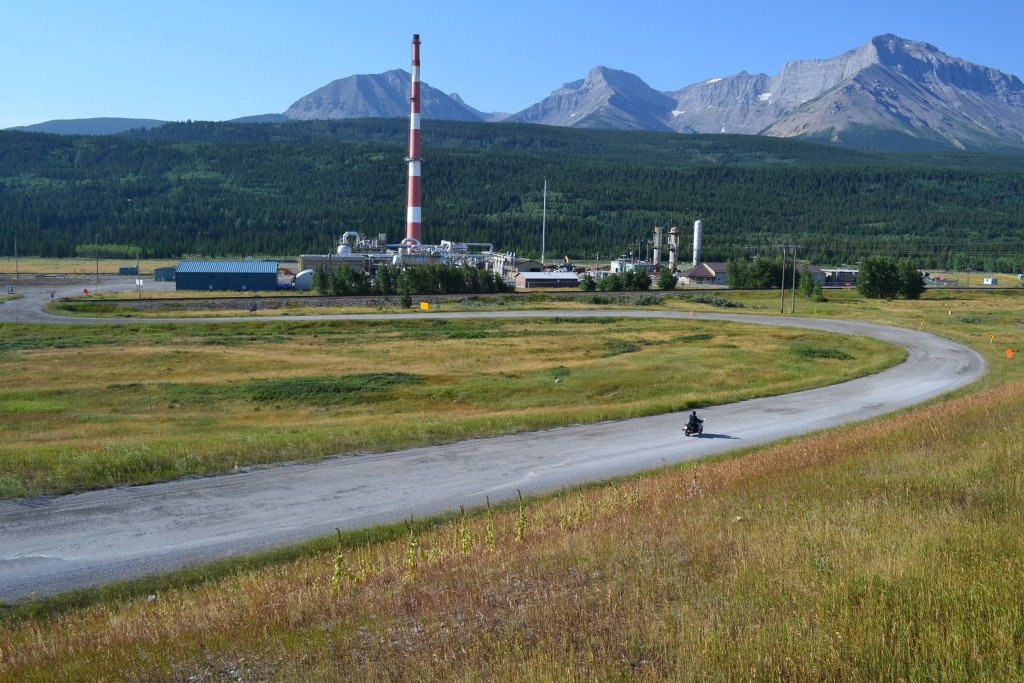 Devon Energy Gas Plant Decommission OwlBox 4K Construction Camera Time-Lapse System & Services