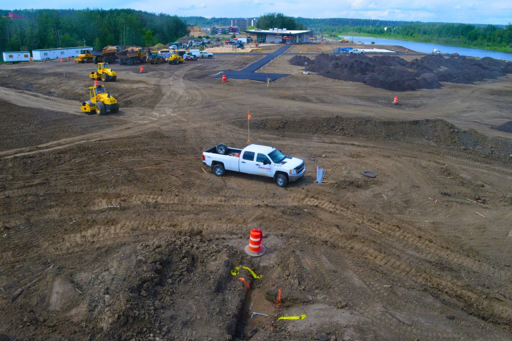 Fort McMurray Park Graham Construction OwlBox 4K Construction Camera Time-Lapse System & Services