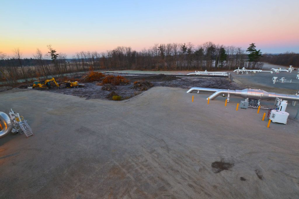 Maple Creek Ontario Compressor Station OwlBox 4K Construction Camera Time-Lapse System & Services