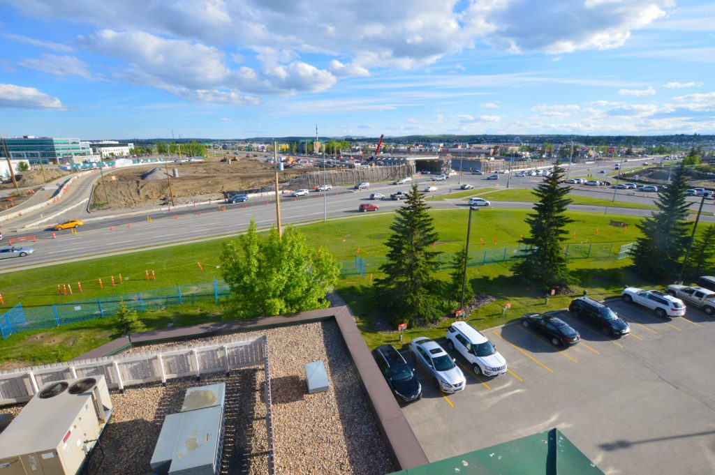 162nd Interchange Calgary McLeod OwlBox 4K Construction Camera Time-Lapse System & Services