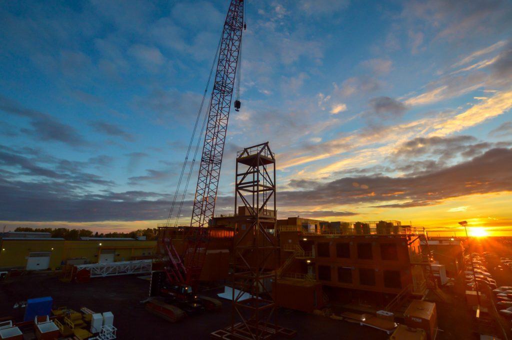 Alberta Drilling Rig OwlBox 4K Construction Camera Time-Lapse System & Services